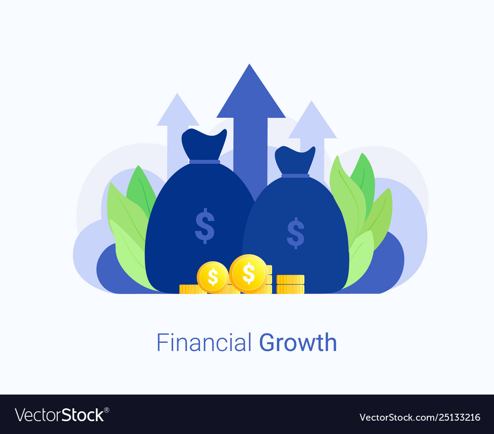 Financial investments concept