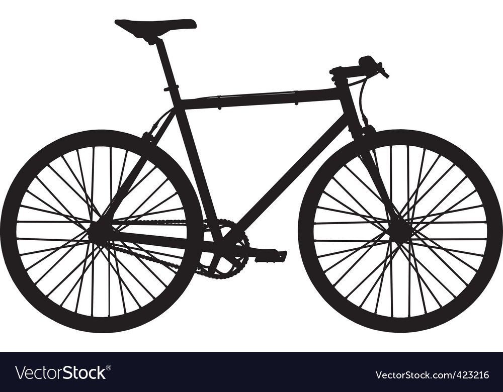 single speed bicycle royalty free vector image rh vectorstock com bicycles victoria bc bicycle victoria spring-wheel