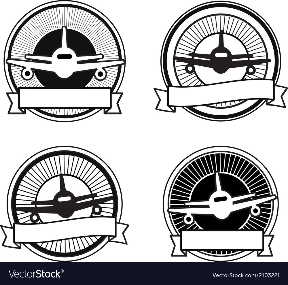 Air travel badges