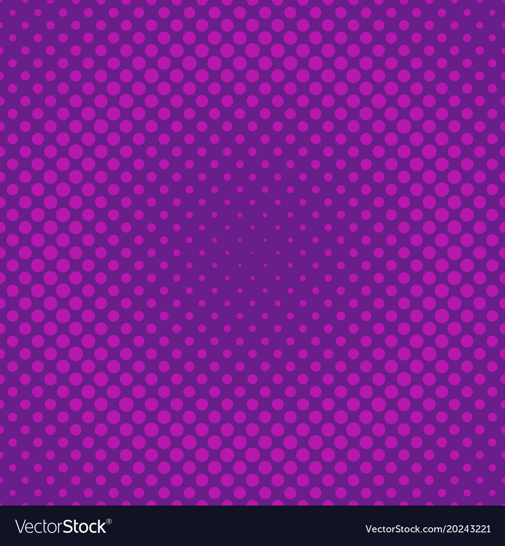 Geometric halftone circle pattern background from