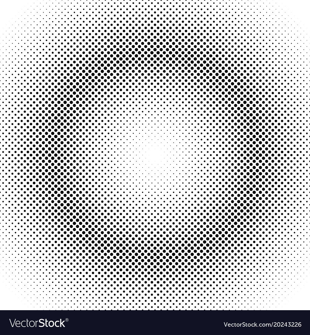 Abstract halftone circle pattern background