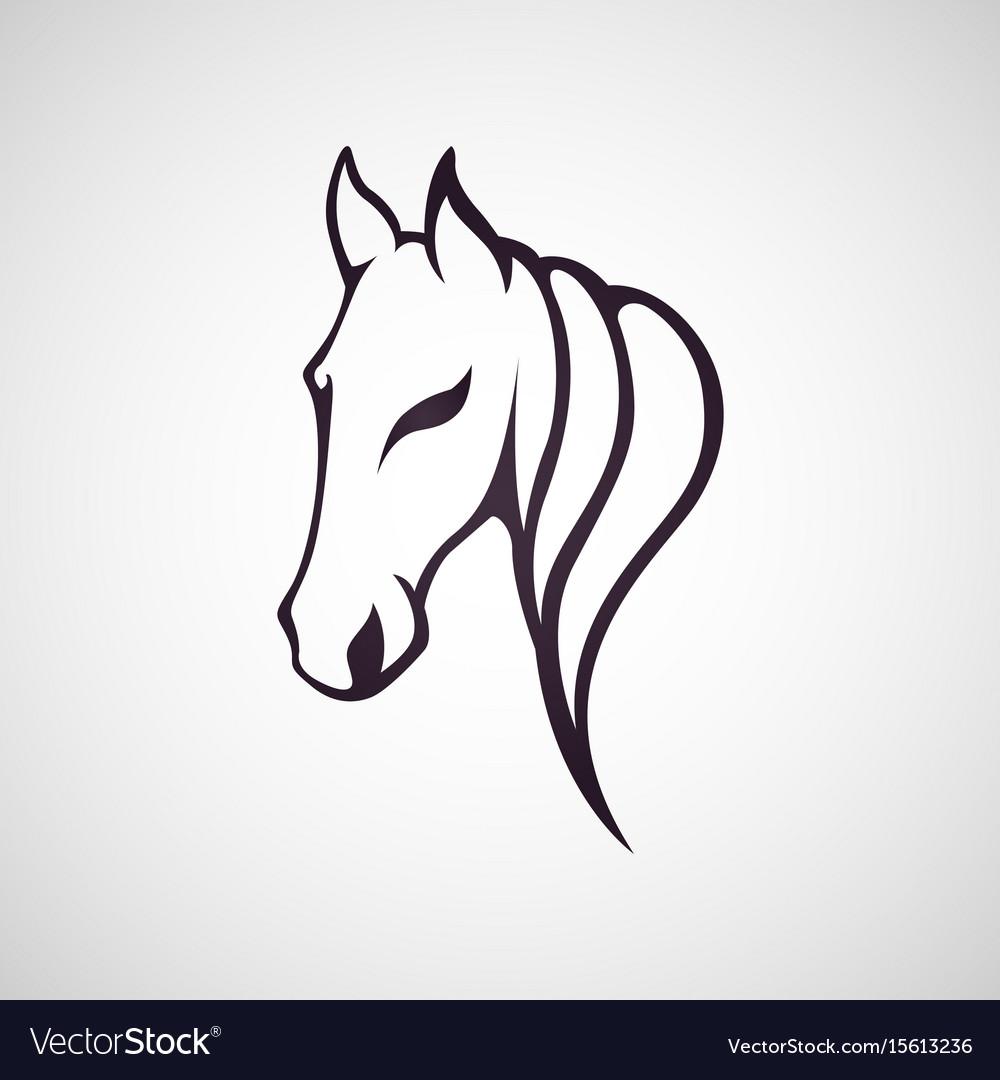 Horse logo icon design