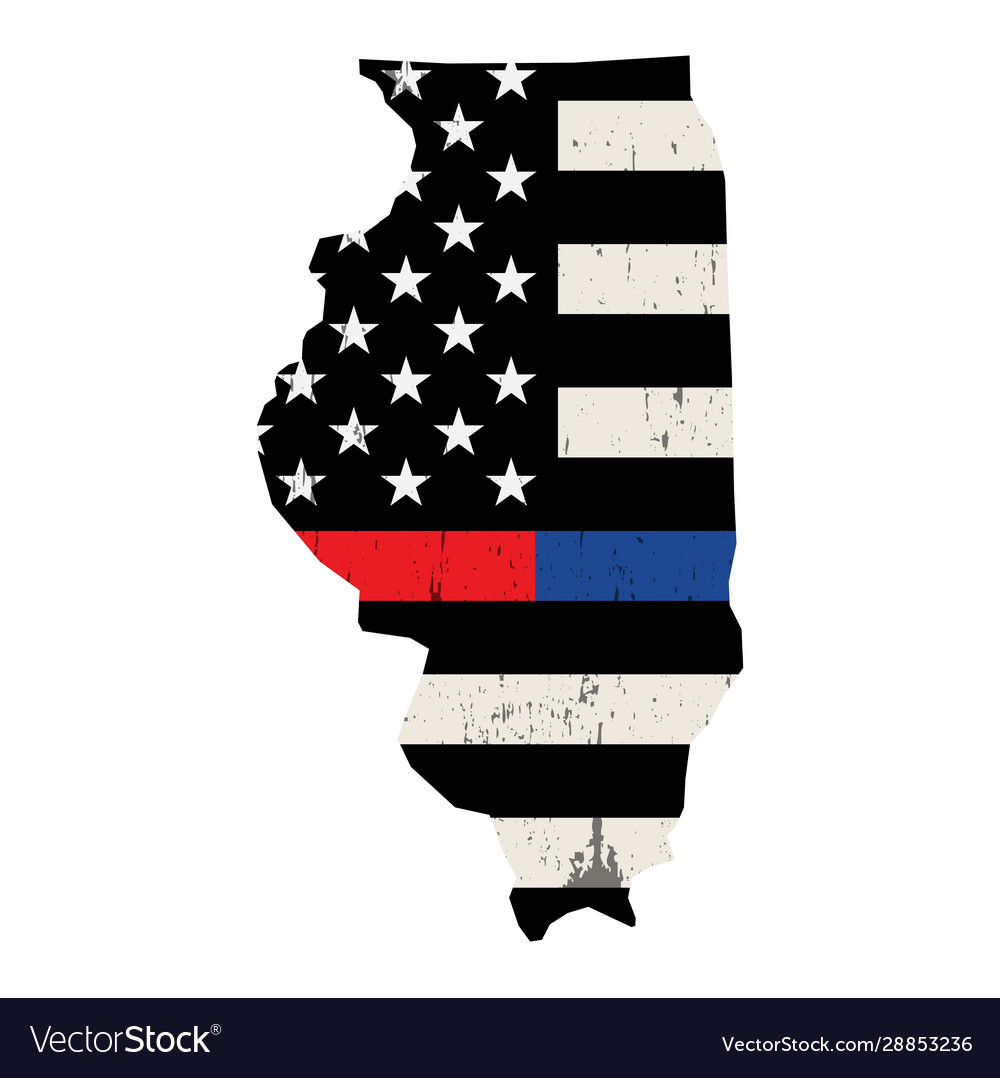 State illinois police and firefighter support