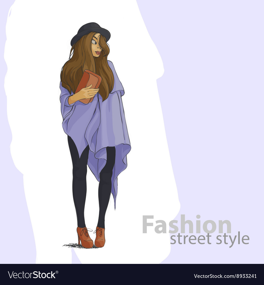 Cute fashion girl