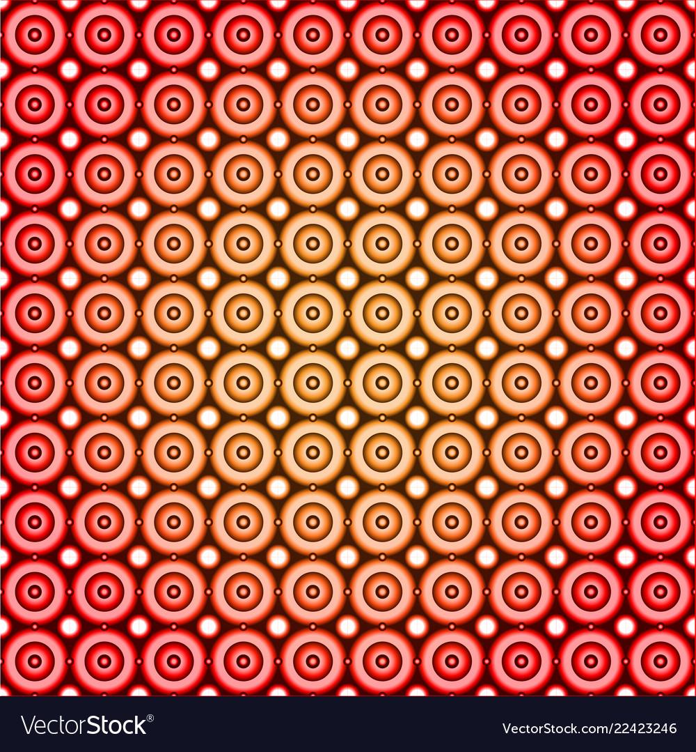 Circle industrial seamless pattern design