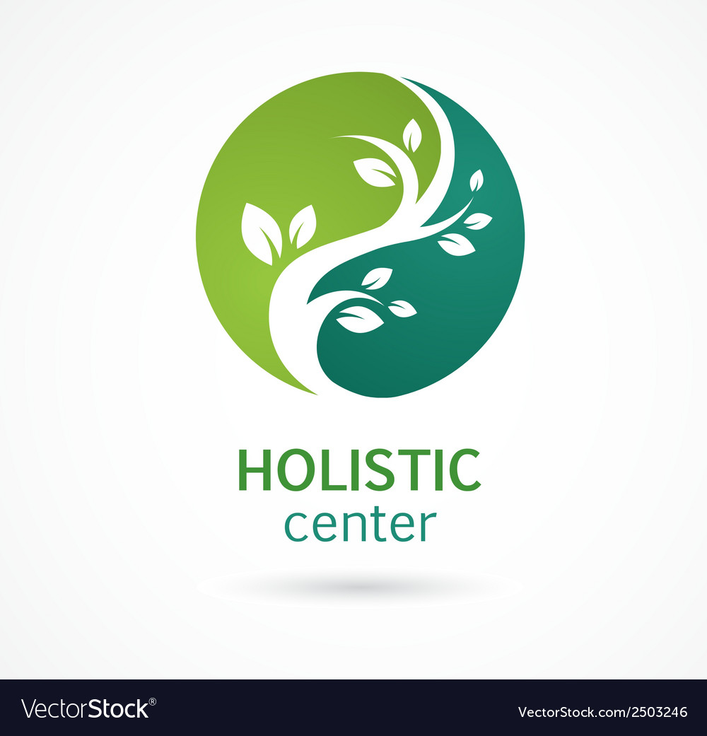 Natural Alternative Herbal Medicine icon vector image