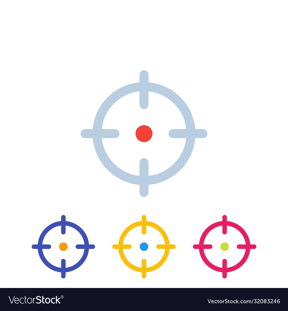 Target aim crosshair icons