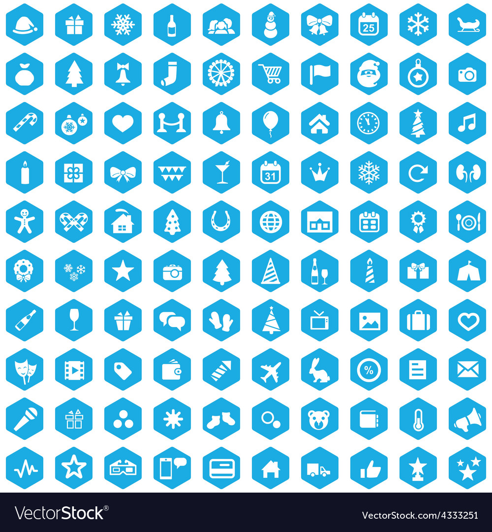 100 new year icons