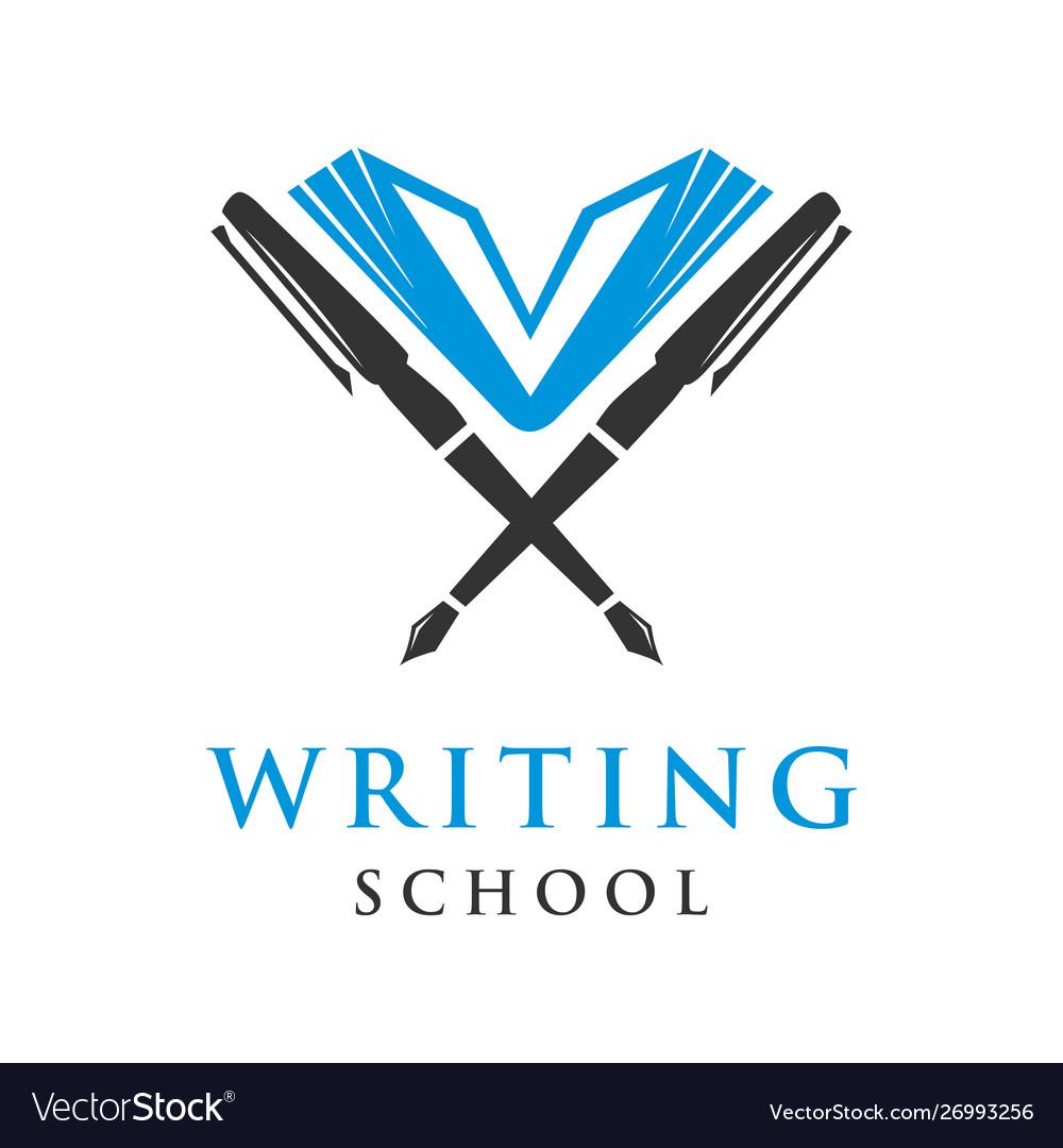 Educational writing logo