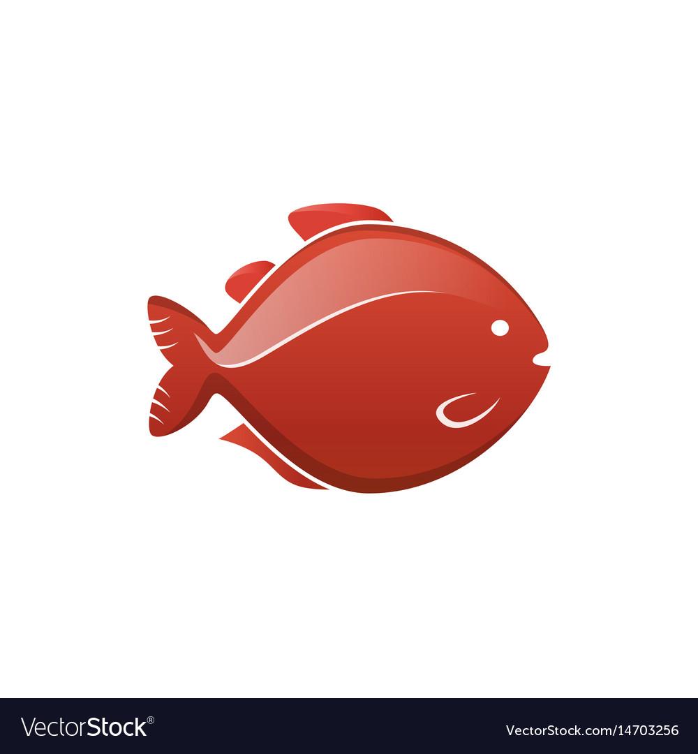 Fish icon label