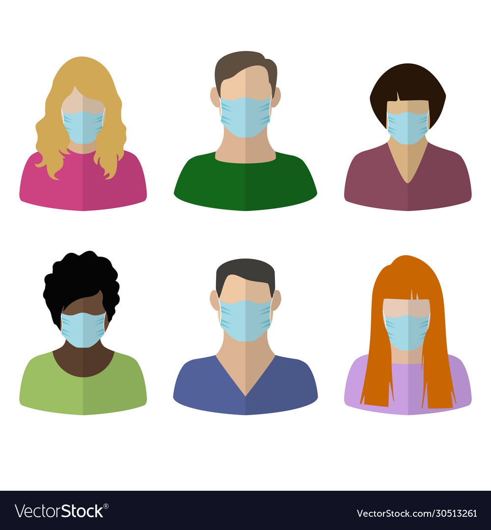 People in medical masks