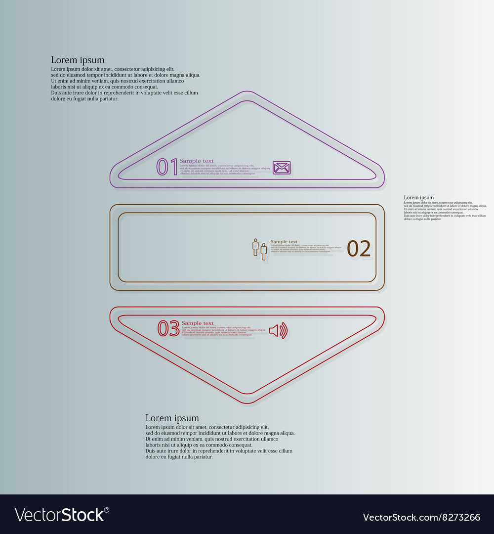 Hexagonal shape infographic template consists of Vector Image