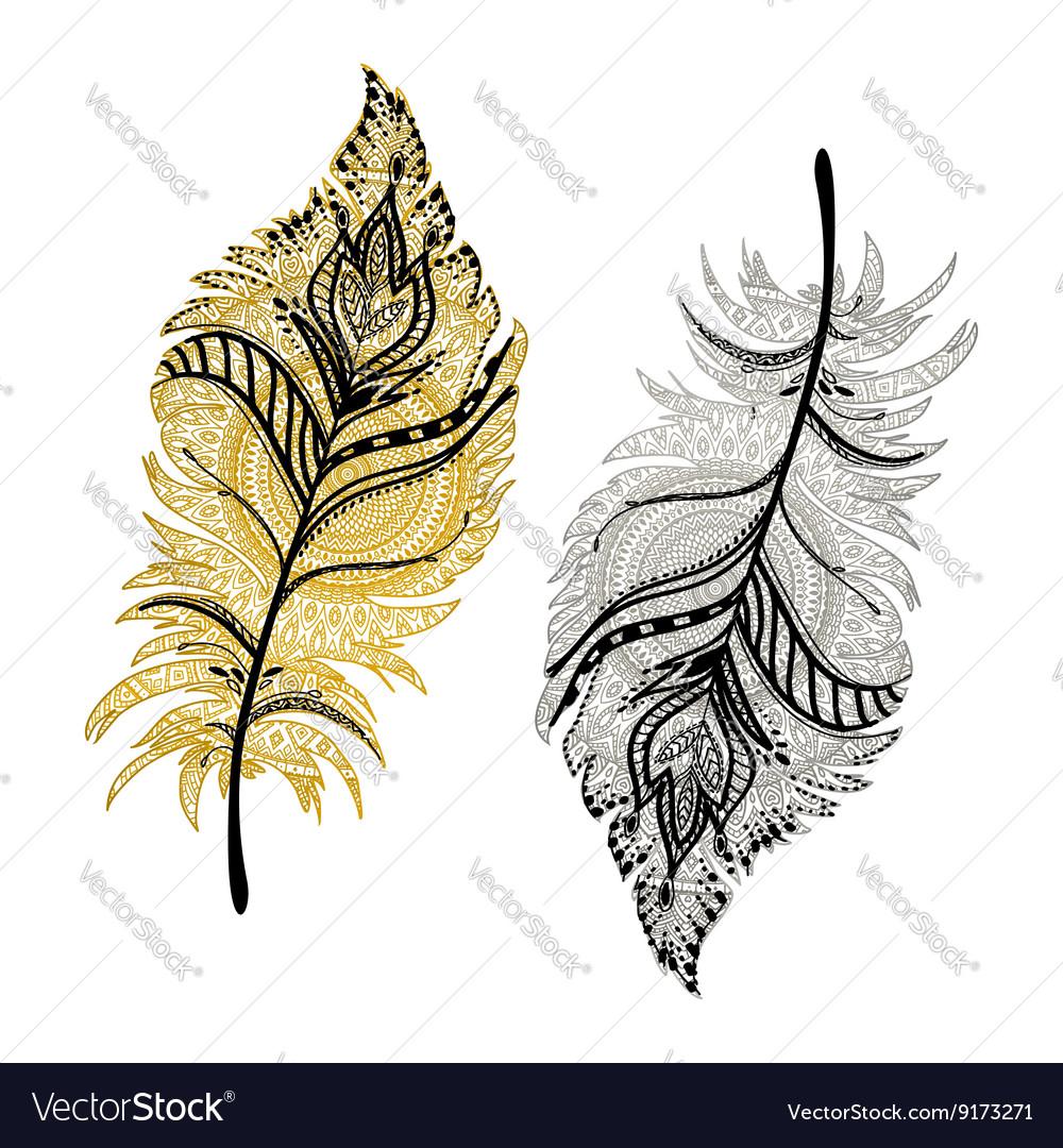 Beautiful Boho feathers