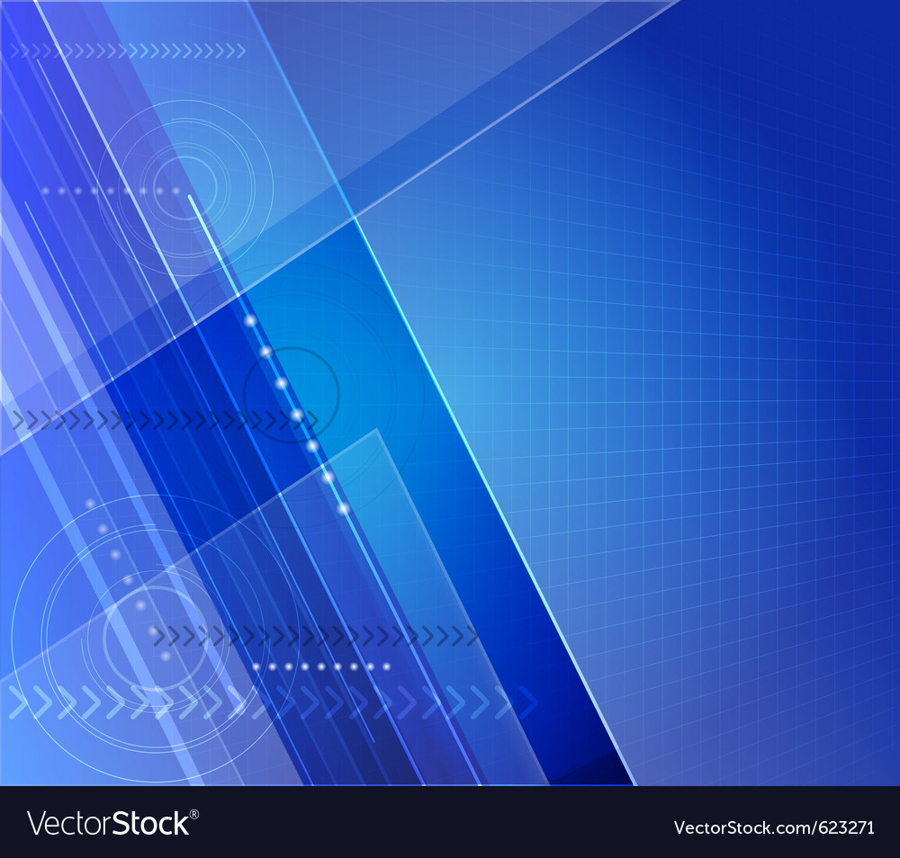 Stylized futuristic background with digital symbol