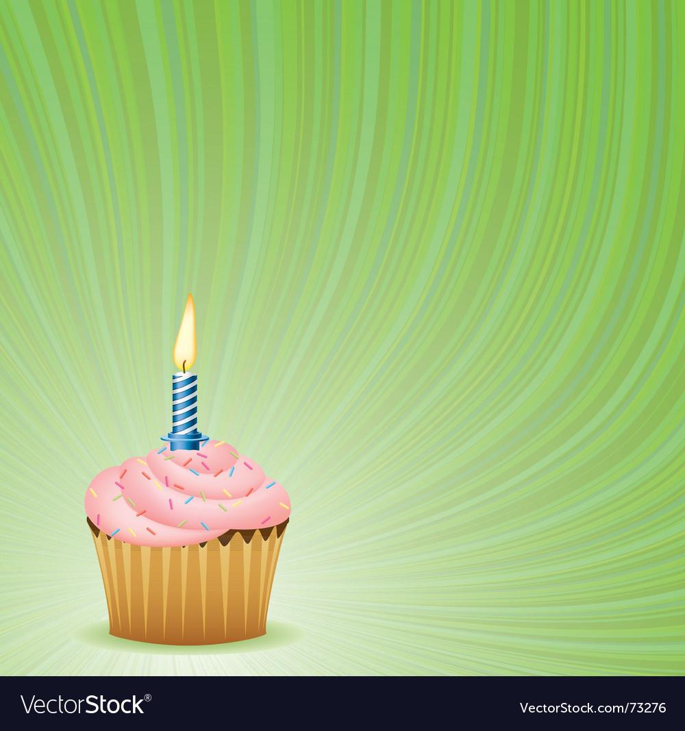 Enjoyable Birthday Green Background Royalty Free Vector Image Birthday Cards Printable Benkemecafe Filternl