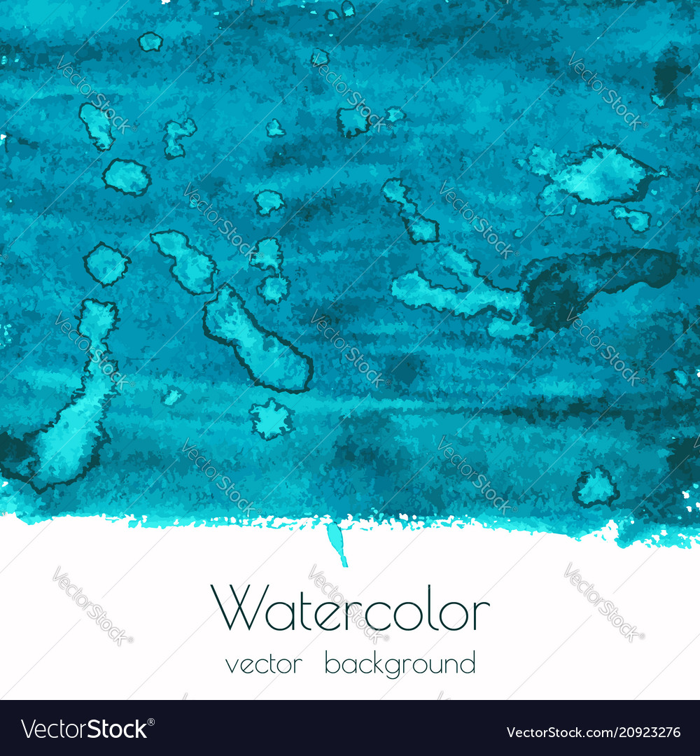 Blue green watercolor texture background