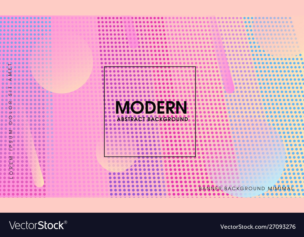 Modern gradient abstract background