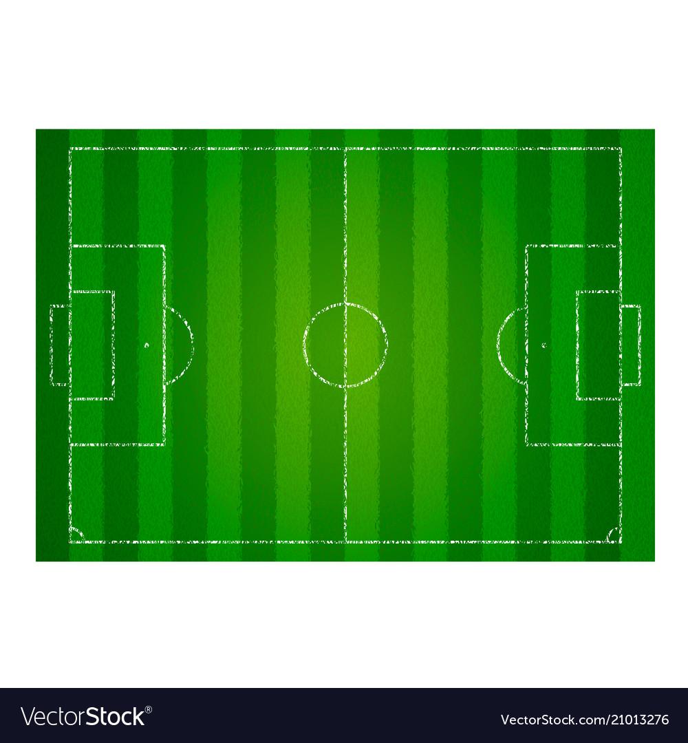Realistic textured grass football field soccer