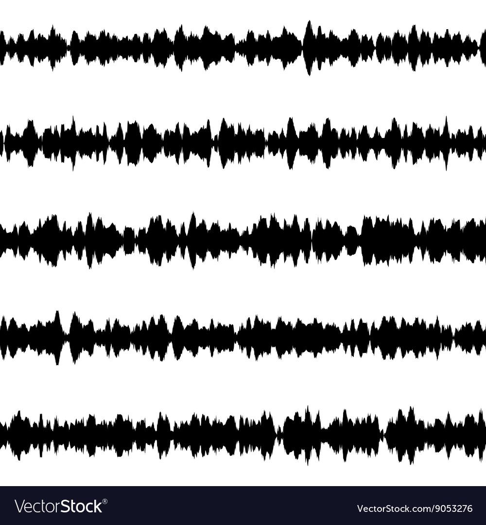 Sound waves set EPS 10