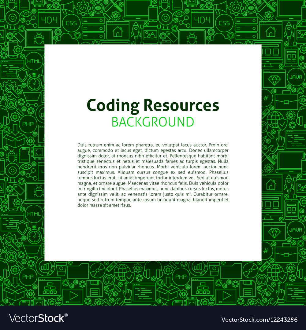 Coding Resources Paper Template