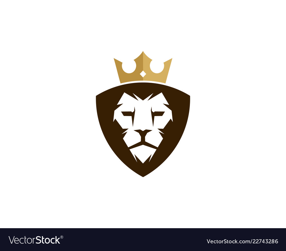 Lion king logo icon design