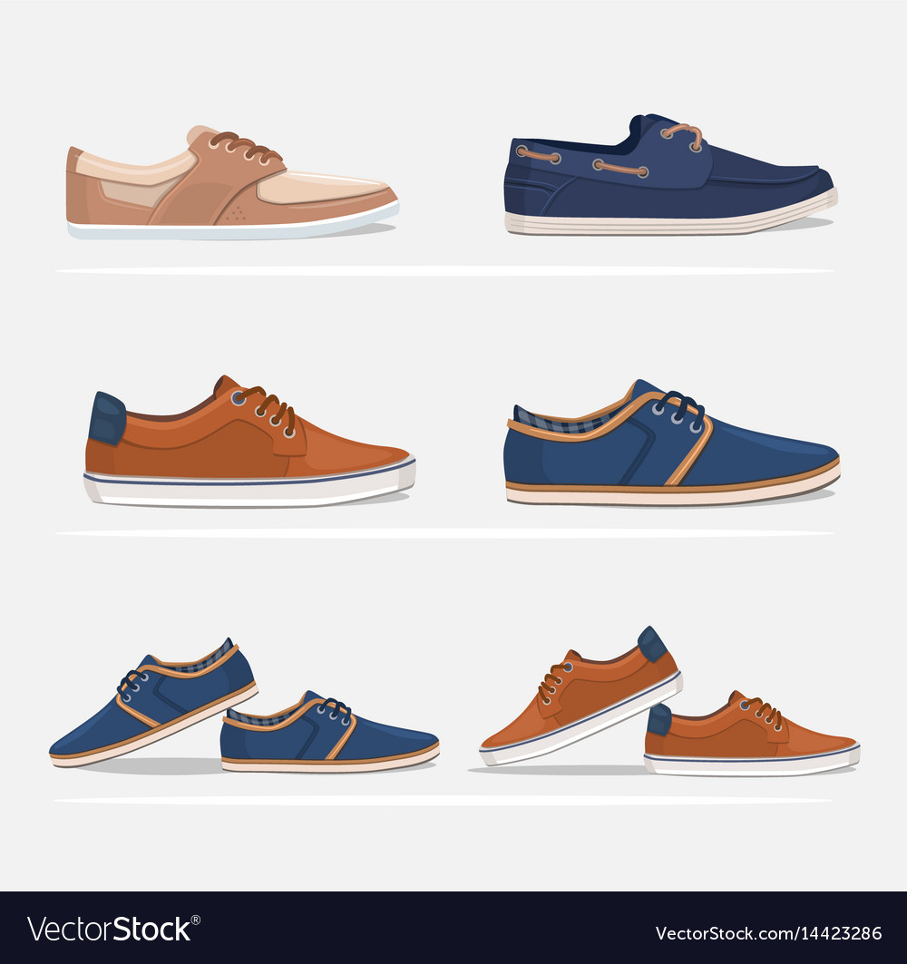 Men shoes set