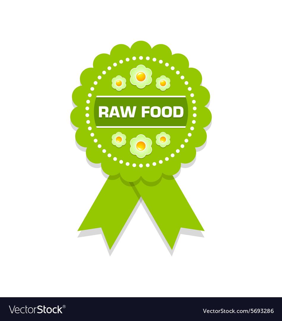 Raw food rosette