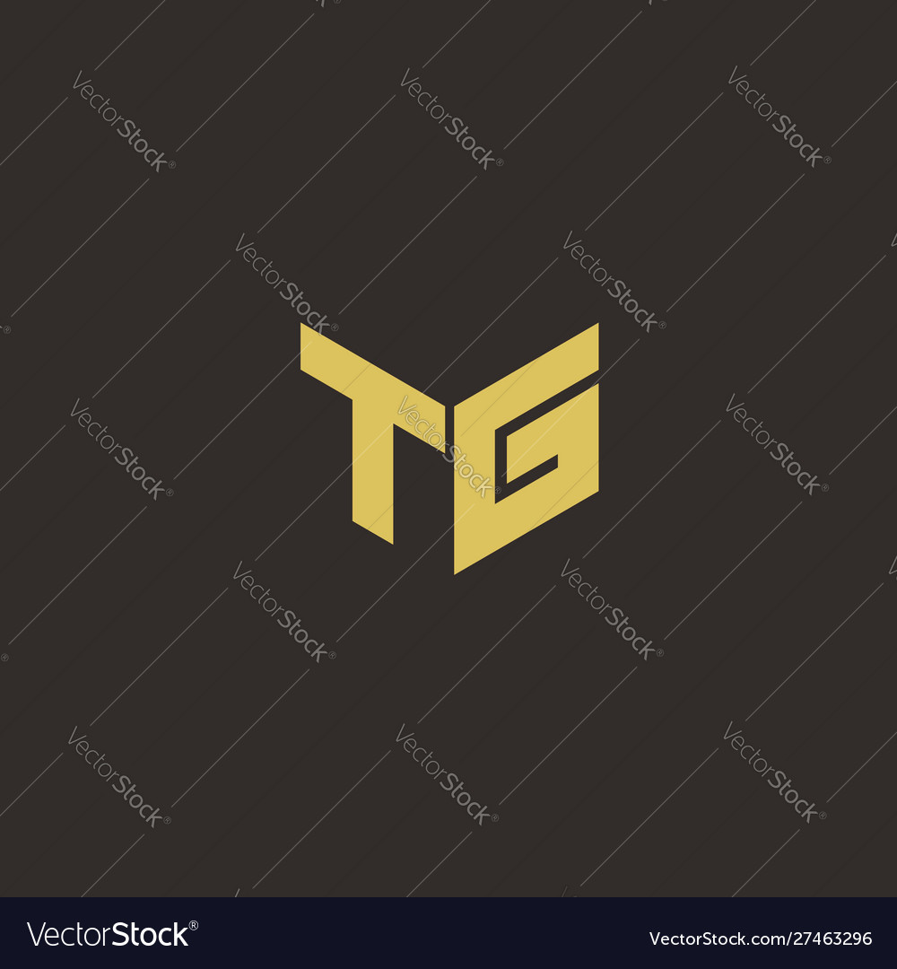 Tg Logo Letter Initial Logo Designs Template With