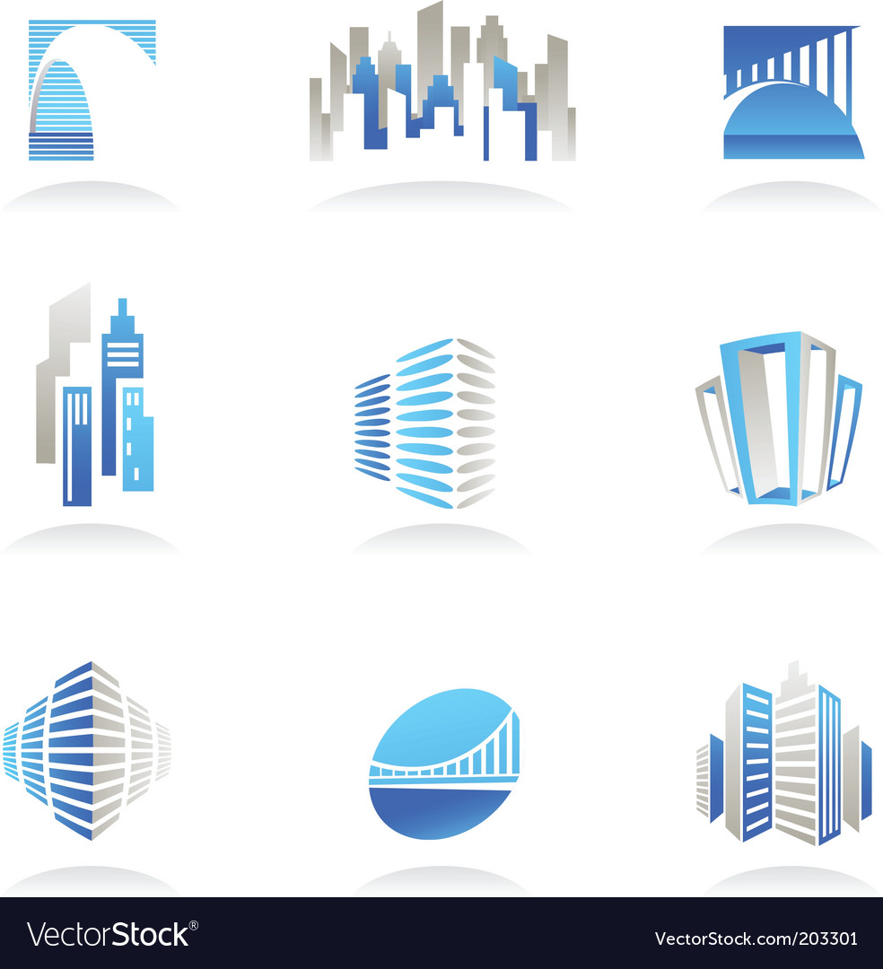 free real estate logo vector. City Real Estate Logo Vector