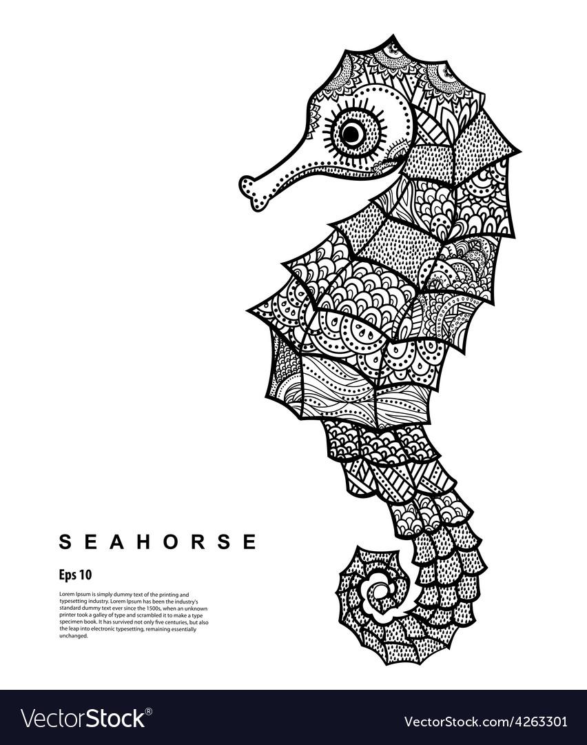 Tribal Seahorse