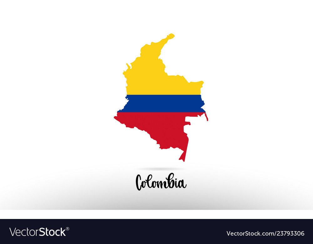 Colombia country flag inside map contour design on country of south carolina map, country of texas map, country of lebanon map, country of arabia map, country of georgia map, country of mexico map, country of peru map, country of pennsylvania map, country of chile map,