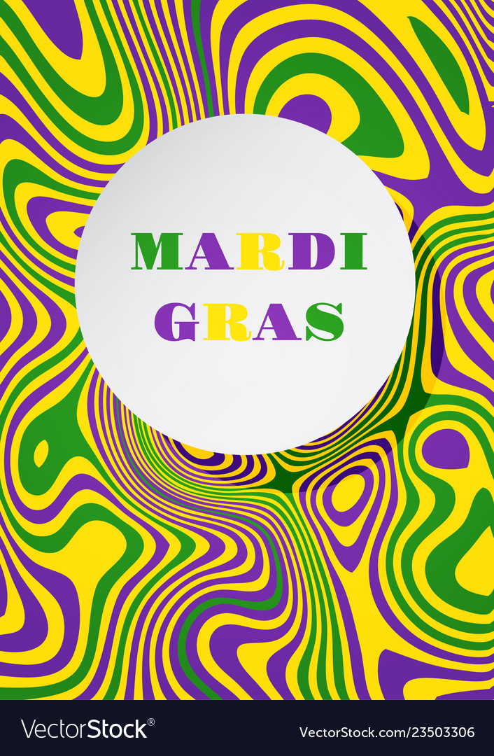 Mardi gras carnival party background fat tuesday
