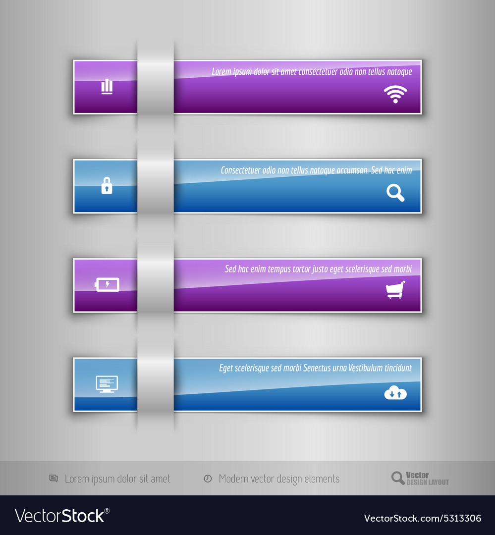 modern business tabs infographics template for