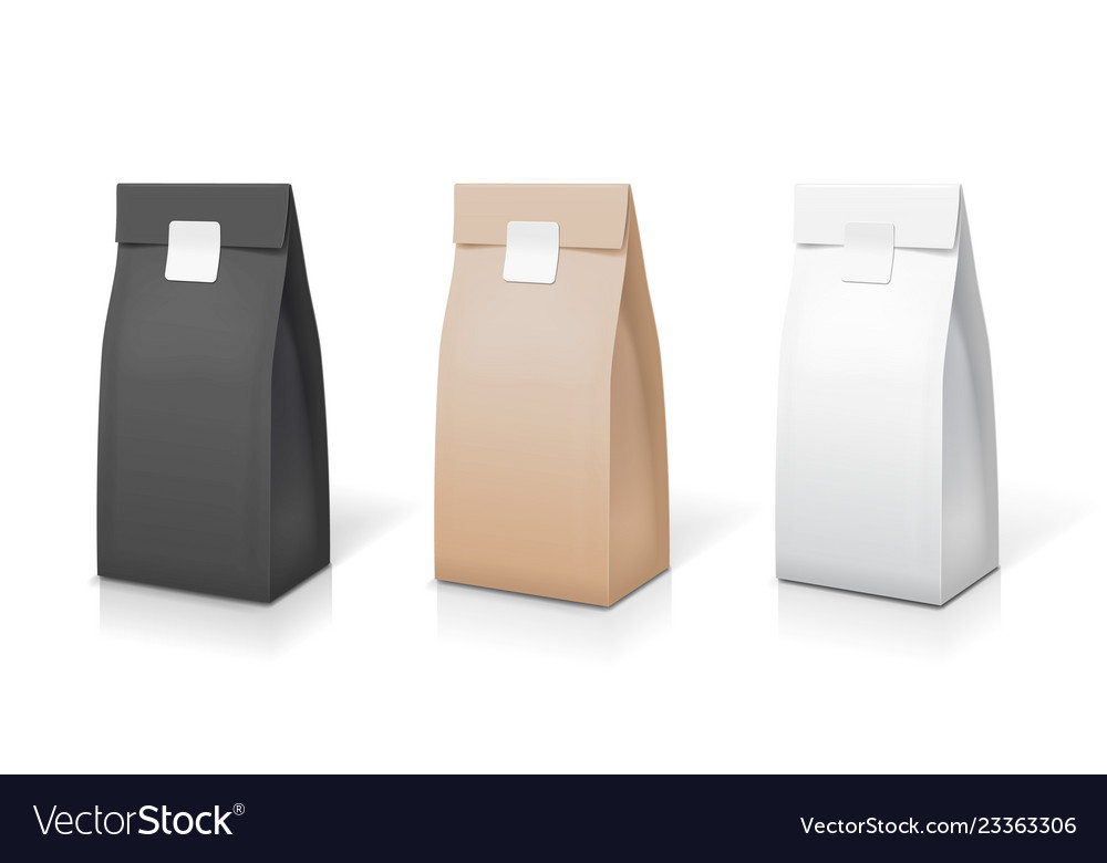 Tea coffee paper packaging collection