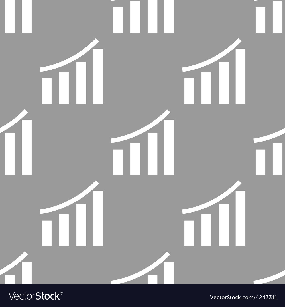 Chart seamless pattern