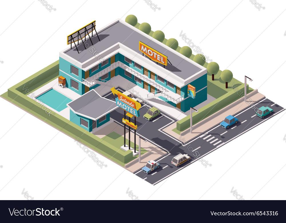 Isometric motel