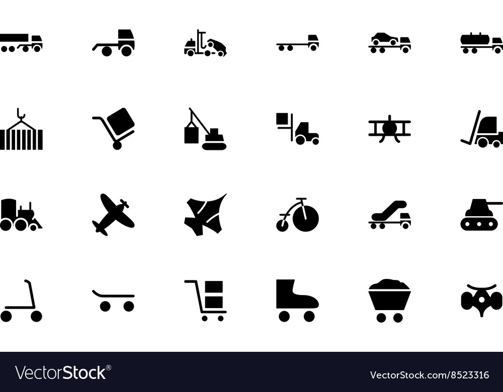 Transport Hand Drawn Doodle Icons 3