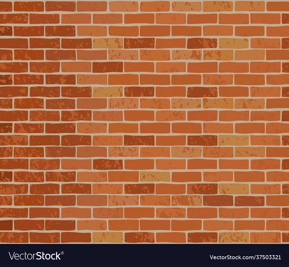 Brick wall colorful background