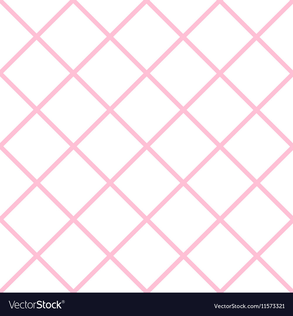 Pink White Grid Chess Board Diamond Background