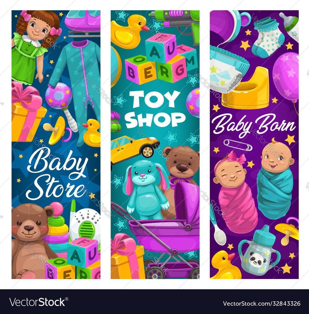 Baby care toys shop cartoon kids stuff