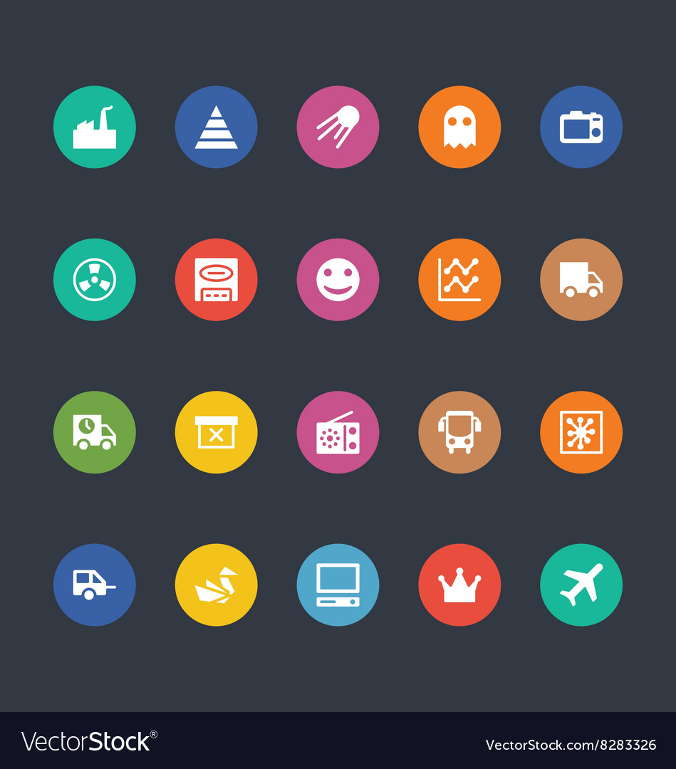 Glyphs Colored Icons 30