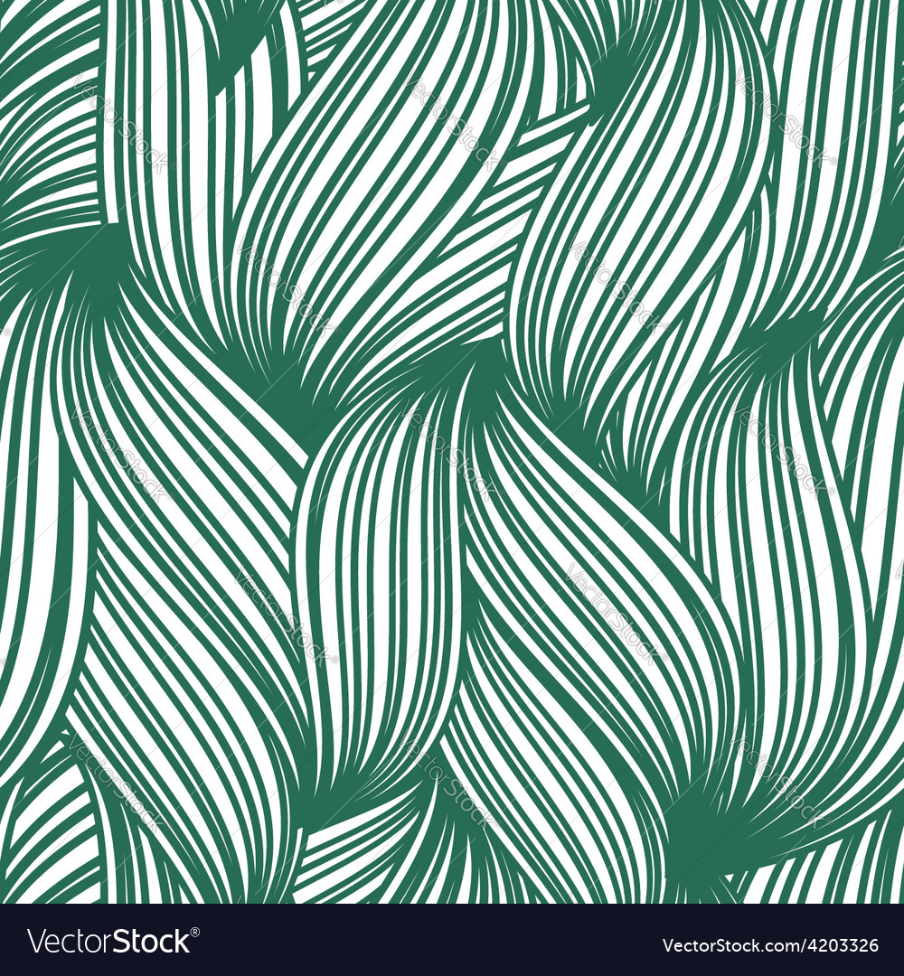 Green abstract seamless background striped