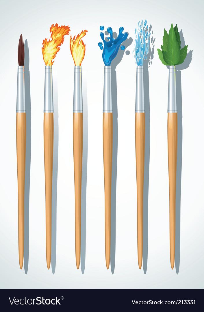 Brushes painter