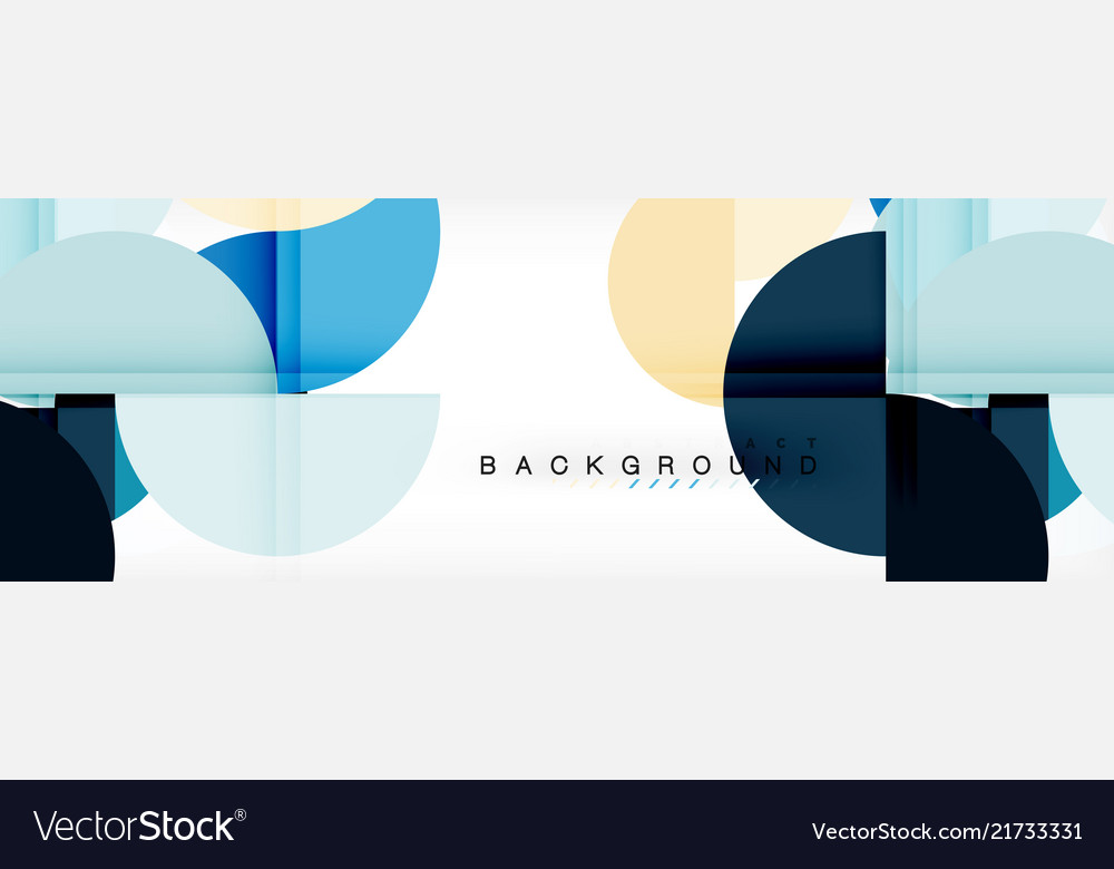 Circle abstract background geometric