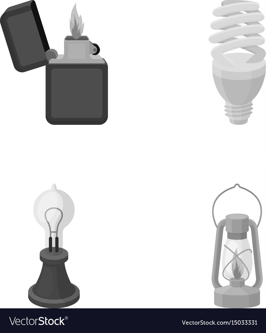 Lighter economical light bulb edison lamp