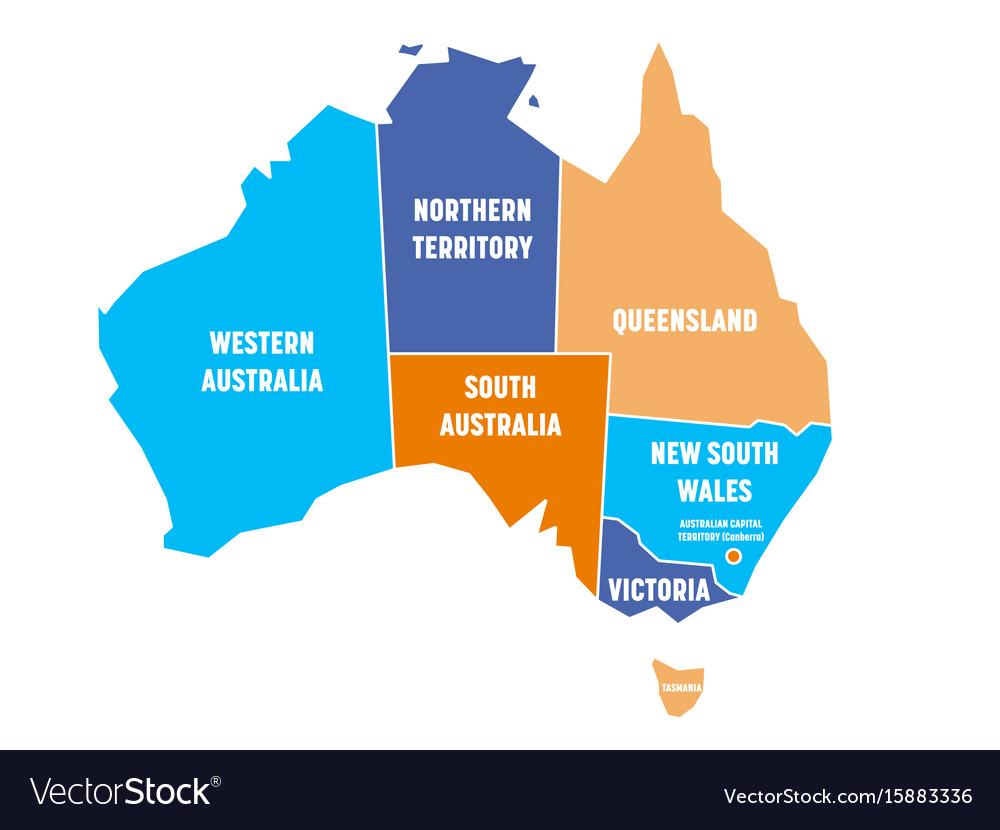 Map Of States Of Australia.Australia Map States Return To Tat Retreat Facilities List States