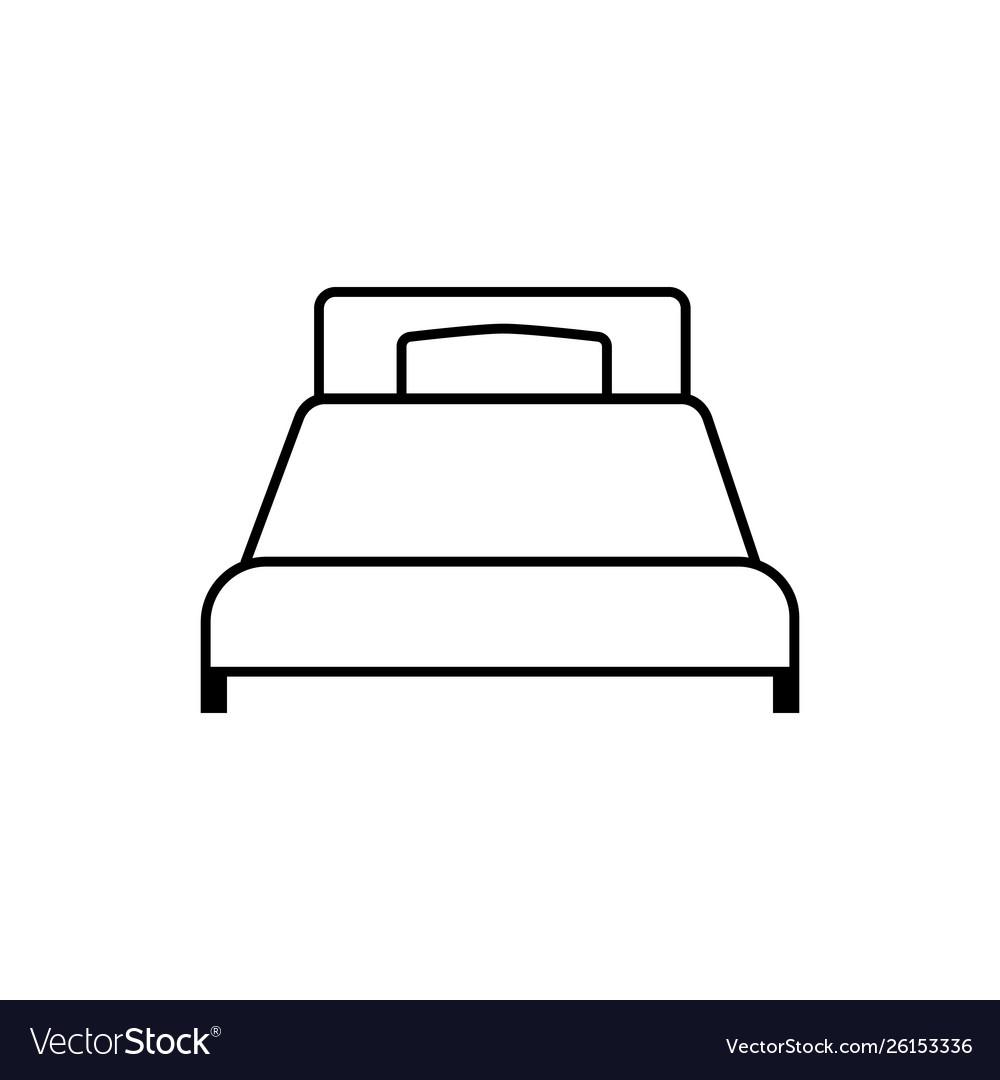 Single bad linear icon