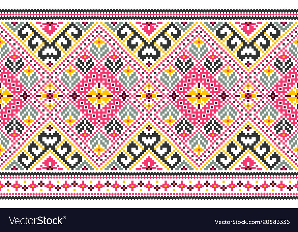 Tribal seamless pattern ethnic style