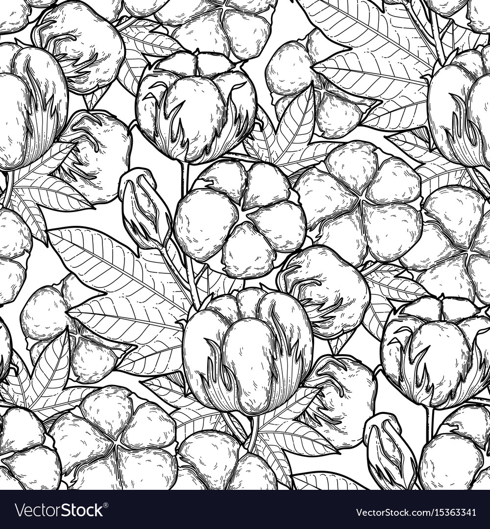 Graphic cotton pattern