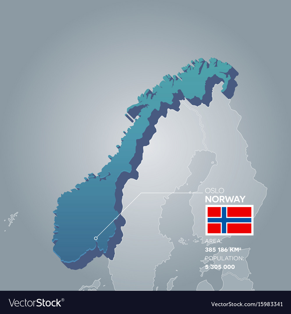 Norway information map